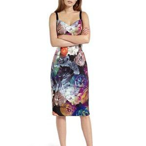 Ted Baker Etheya Technicolour Bloom Dress